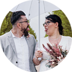 Brautpaar Testimonial Portraitbild 02